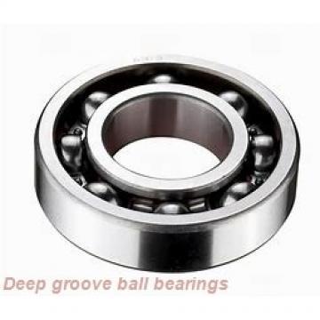 10 mm x 15 mm x 4 mm  skf W 61700 X-2ZS Deep groove ball bearings
