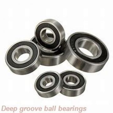 3,175 mm x 7,938 mm x 9,119 mm  skf D/W R2-5 R Deep groove ball bearings