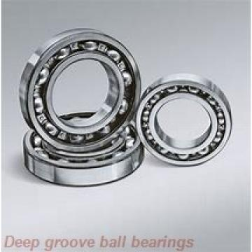 10 mm x 22 mm x 6 mm  skf W 61900-2RS1 Deep groove ball bearings