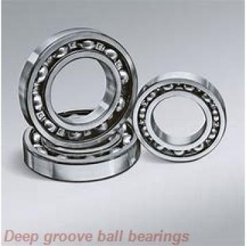 25 mm x 62 mm x 17 mm  skf 6305-2RS1 Deep groove ball bearings