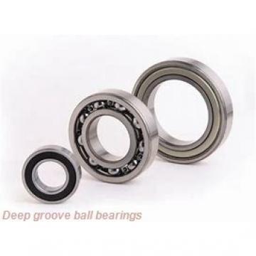 80 mm x 170 mm x 39 mm  skf 6316 M Deep groove ball bearings