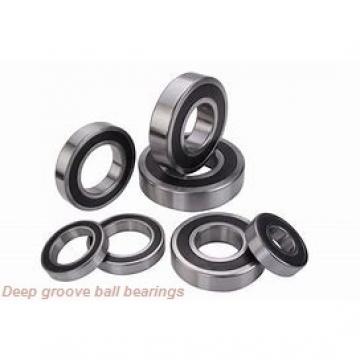 2,38 mm x 4,762 mm x 1,588 mm  skf D/W R133 Deep groove ball bearings