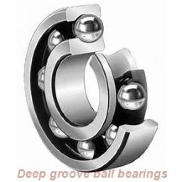 4,762 mm x 9,525 mm x 3,175 mm  skf D/W R166 Deep groove ball bearings
